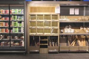 présentoir banque pain lidl