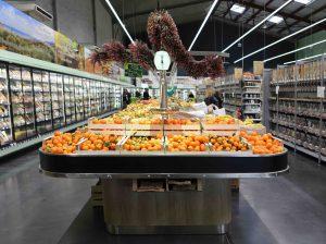 table fruits et légumes bio
