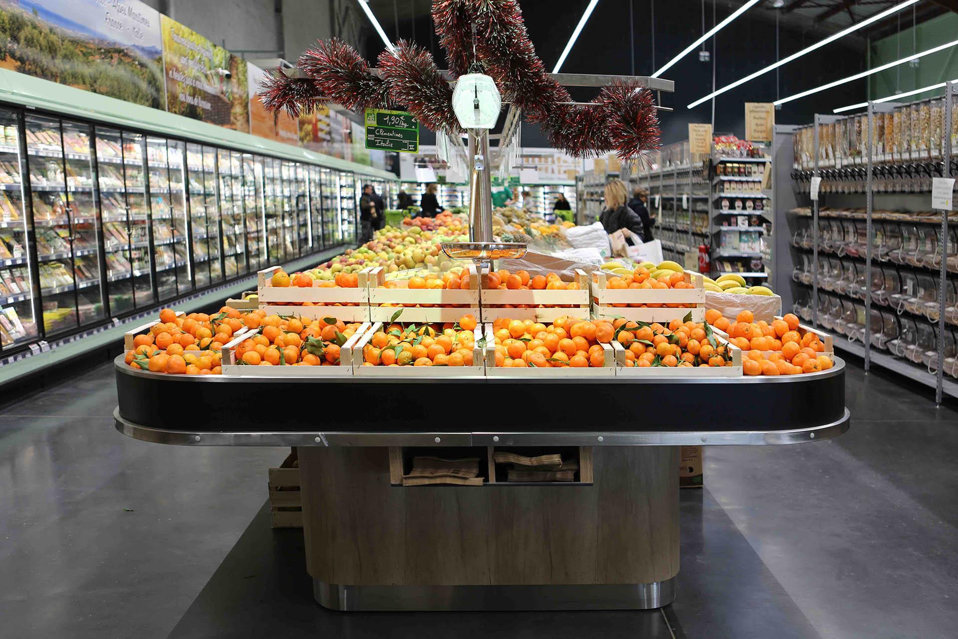 table fruits légumes