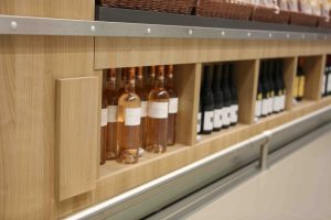 présentoir vin