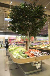 table fruits et légumes arbre