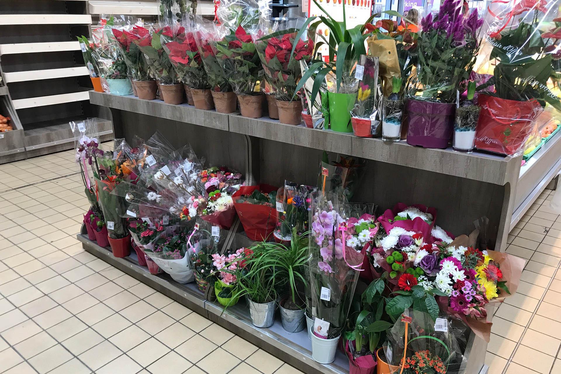 meuble fleurs