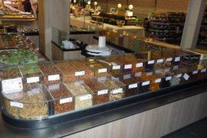 kiosque fruits secs